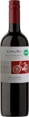 Authentic Wine & Spirits Cono Sur Bicicleta Red Blend 1000ml