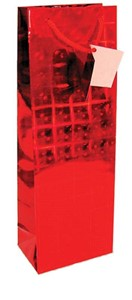 Smith & Doyle Holographic Red Gift Bag