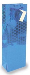Smith & Doyle Holographic Blue Gift Bag