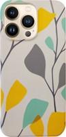 Uunique London iPhone 13 Pro Uunique (Summer Spray) Nutrisiti Eco Printed Back Case
