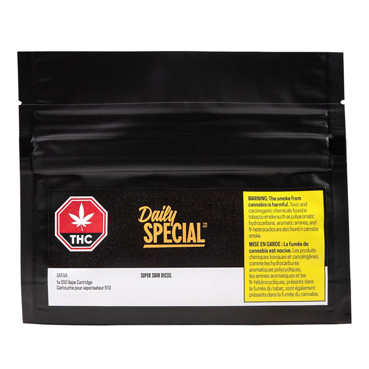 Super Sour Diesel - Daily Special - 510 Cartridge