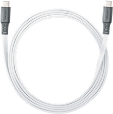 Ventev Chargesync 6' Type C 2.0 White Cable
