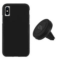 CaseMate iPhone X/Xs Car Vent Mount Case - Black