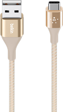 Belkin Mixit Duratek Metallic USB-A to USB-C Cable