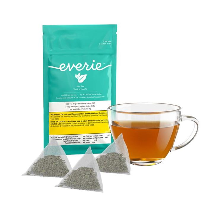 Product image of Mint CBD Tea - Everie - Tea