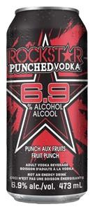 Mike's Beverage Company Rockstar & Vodka Fruit Punch 473ml