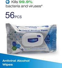 Premium Alcohol Anti-Viral Wet Sanitizing Wipes Pack