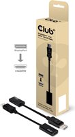 Club3D - Display Port Male to Active DVI Single Link Female Passive Adapter