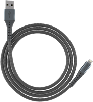 Ventev 10' Lightning Chargesync Alloy Cable