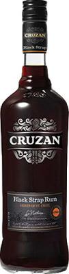 Beam Suntory Cruzan Black Strap Rum 750ml
