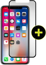 Gadget Guard iPhone X Black Ice Plus Cornice Curved Edition Screen Guard