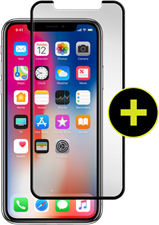 Gadget Guard iPhone X Black Ice Plus Cornice Curved Edition Screen Guard