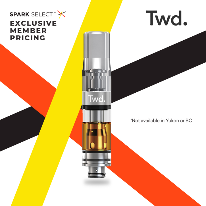 Twd Indica - Twd. - 510 Cartridge