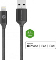 PowerPeak 6ft. Metallic Lightning USB Charge & Sync Cable