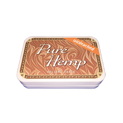 Pure Hemp Unbleached Stash Tin