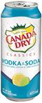 Canada Dry Mott's 1C Canada Dry Classics Vodka & Soda 473ml