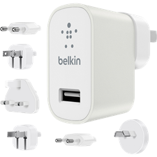 Belkin Global Travel Kit 12W Charger