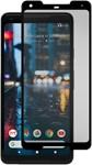 Gadget Guard Google Pixel 2 XL Black Ice Cornice Curved Tempered Glass Screen Guard