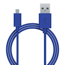 Micro Cable 1M Blue  PW-200-BLU
