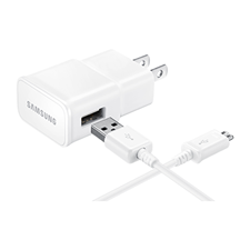Samsung Adaptive Fast Charging Wall Charger (Detachable microUSB-USB Cable)