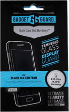 Gadget Guard LG K20/Harmony/Grace LTE Black Ice Edition Tempered Glass Screen Guard
