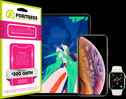 Fortress - Quantum Liquid Screen Protection 200 Guarantee - Clear