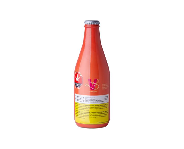 Sparkling Blood Orange - Little Victory - Sparkling Water