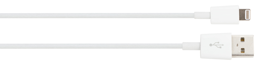 XQISIT Lightning Charging Data-Sync Cable (90cm)