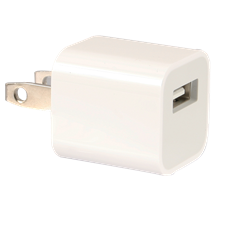 Apple OEM AC Wall Charger Cube with USB Port