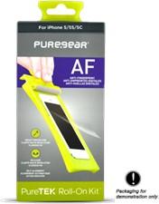 PureGear LG G3 Puretek HD Anti-fingerprint Screen Protector - Pet Material