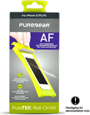 PureGear LG G3 Puretek HD Anti-fingerprint Screen Protector - Pet Material