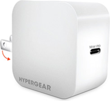 HyperGear 18W PD USB Type-C Wall Charger Hub