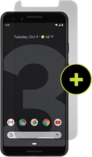 Gadgetguard Pixel 3 Black Ice Plus Glass Screen Protector