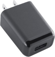 KEY 2.4A Single-USB Wall Charger (AC ONLY)