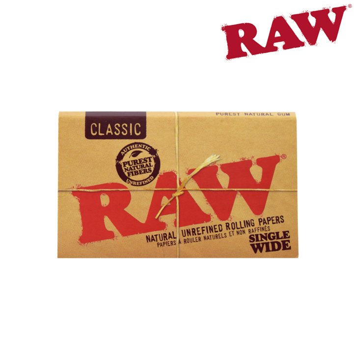 RAW, Classic, Single Wide Papers, Double Window