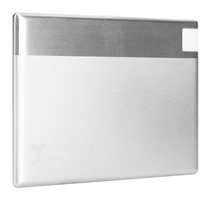 Xqisit Ultra-Slim iPhone Power Bank (Silver)