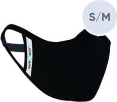 Case-Mate Case-mate Safe Mate Washable Black Cloth Face Mask -S/M
