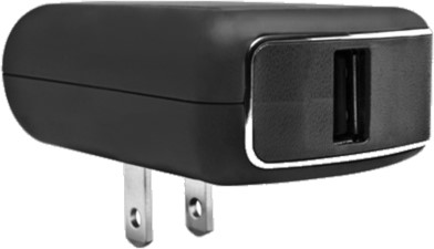 PureGear 2.1A Single USB Travel Charger (no cable)