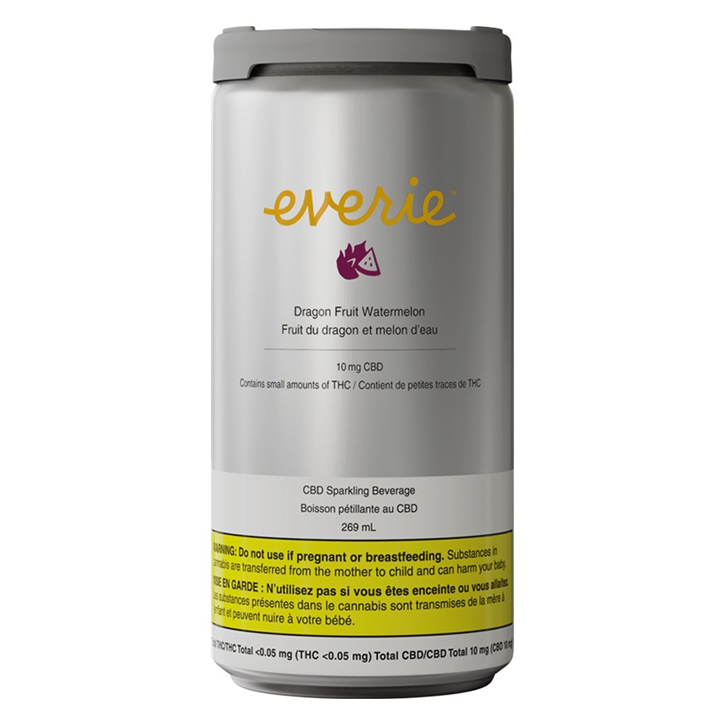 Dragon Fruit Watermelon CBD - Everie - Sparkling Water