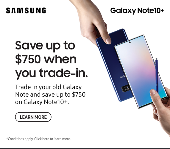 Save up to $750 when you trade-in