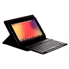 mEdge M-Edge Universal Stealth Pro Case with Bluetooth Keyboard for Large Tablets - Black