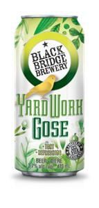 4C Black Bridge Brewery Yardwork Gose 1892ml