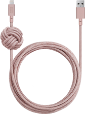 Native Union 10ft Lightning Night Cable w/ Knot
