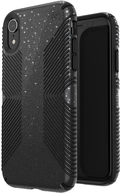iPhone XR Presidio Grip + Glitter Case