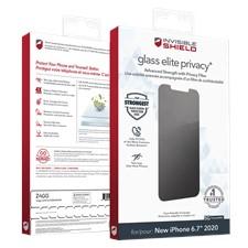 Zagg iPhone 12/12 Pro Max Invisibleshield Elite Privacy Plus Glass Screen Protector