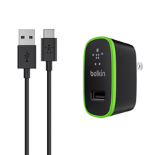 Belkin 6' USB-A To USB-C Wall Charger