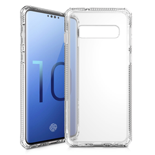 ITSKINS Hybrid Clear Case For Galaxy S10
