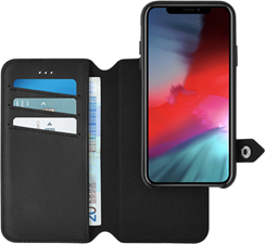 Ercko iPhone XR 2-1 Airflex Magnet Case + Wallet