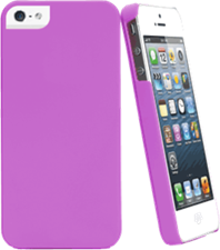 Muvit iPhone 5/5s/SE  Soft Back Case - Radiant Orchid