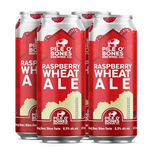 Pile O' Bones Brewing Company 4C Pile O' Bones Raspberry Wheat Ale 1892ml